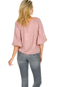JC Sophie |  Off-shoulder top Atlanta | pink  | Picture 6