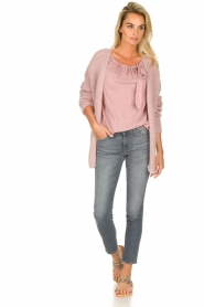 JC Sophie |  Off-shoulder top Atlanta | pink  | Picture 3