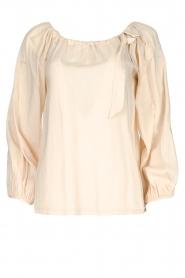 JC Sophie |  Off-shoulder top Atlanta | beige  | Picture 1