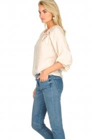 JC Sophie |  Off-shoulder top Atlanta | beige  | Picture 6