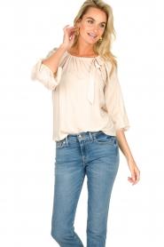 JC Sophie |  Off-shoulder top Atlanta | beige  | Picture 5