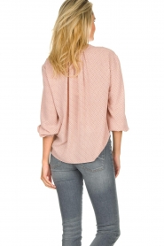 JC Sophie |  Printed blouse Artemisia | pink  | Picture 5