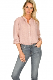 JC Sophie |  Printed blouse Artemisia | pink  | Picture 2