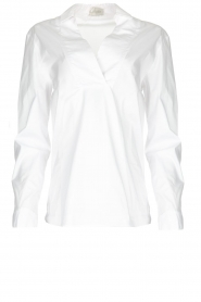 JC Sophie |  Stretch blouse Avery | white  | Picture 1