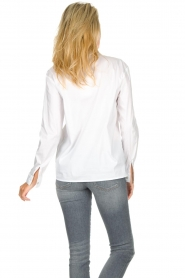 JC Sophie |  Stretch blouse Avery | white  | Picture 6