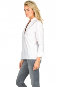 JC Sophie |  Stretch blouse Avery | white  | Picture 5