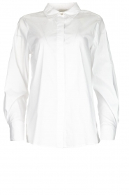 JC Sophie |  Classic stretch blouse Alice | white  | Picture 1