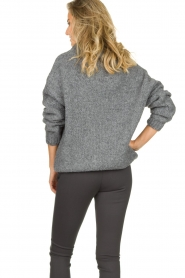 Be Pure |  Turtle neck sweater Olivia | grey  | Picture 5