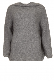 Be Pure |  Turtle neck sweater Olivia | grey  | Picture 1