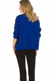 Be Pure | Knitted cardigan Marjolein | blue   | Picture 7
