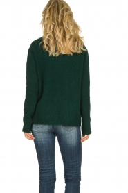 Be Pure |  Knitted turtleneck sweater Maryse | green  | Picture 5