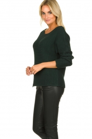 Be Pure | Knitted sweater Amanda | green  | Picture 5