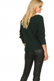 Be Pure | Knitted sweater Amanda | green  | Picture 6