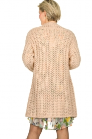 Be Pure |  Chunky knitted cardigan Charly | nude  | Picture 5