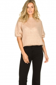 Be Pure |  Sweater Louise | powder pink  | Picture 2