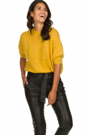 Be Pure | Knitted sweater Babette | yellow  | Picture 2