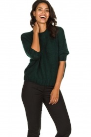 Be Pure | Knitted sweater Babette | green  | Picture 2
