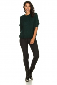 Be Pure | Knitted sweater Babette | green  | Picture 3