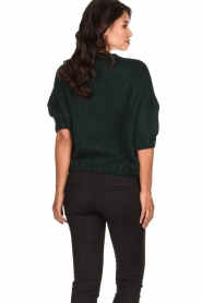 Be Pure | Knitted sweater Babette | green  | Picture 5