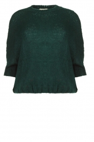 Be Pure | Knitted sweater Babette | green
