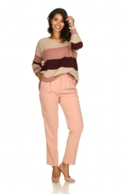 Be Pure | Knitted sweater Tamara | nude  | Picture 3