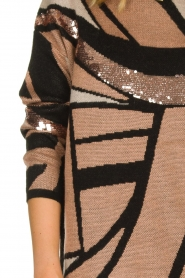 Fracomina |  Long sweater Angelica | rose  | Picture 7