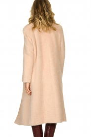 Fracomina |  Double-breasted coat Mandrea | beige  | Picture 5