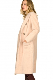 Fracomina |  Double-breasted coat Mandrea | beige  | Picture 4