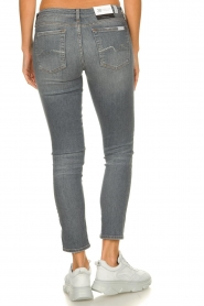 7 For All Mankind |  Cropped skinny jeans with Swarovski Pyper | grey  | Picture 5