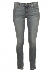 7 For All Mankind |  Cropped skinny jeans with Swarovski Pyper | grey  | Picture 1