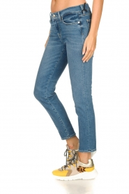 7 For All Mankind |  Cropped skinny jeans Roxanne | blue  | Picture 4