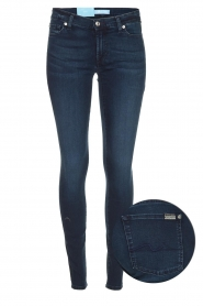7 For All Mankind |  Skinny jeans with Swarovski Park Avenue | blue  | Picture 1