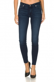7 For All Mankind |  Skinny jeans with Swarovski Park Avenue | blue  | Picture 3