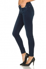 7 For All Mankind |  Skinny jeans with Swarovski Park Avenue | blue  | Picture 4