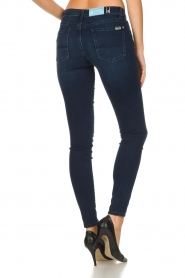 7 For All Mankind |  Skinny jeans with Swarovski Park Avenue | blue  | Picture 5