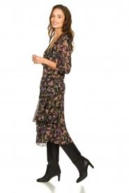 Patrizia Pepe |  Floral dress Julia | black  | Picture 4