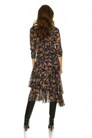 Patrizia Pepe |  Floral dress Julia | black  | Picture 5
