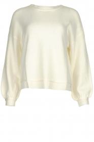 Patrizia Pepe | Sweater Alana | wit  | Picture 1