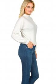 Patrizia Pepe    Glittery sweater Jaidinn   white    Picture 4