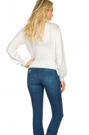 Patrizia Pepe    Glittery sweater Jaidinn   white    Picture 5