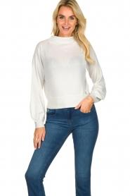 Patrizia Pepe    Glittery sweater Jaidinn   white    Picture 2