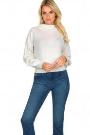 Patrizia Pepe    Glittery sweater Jaidinn   white    Picture 3