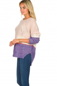 Patrizia Pepe |  Knitted multi-coloured sweater Alessia | multi  | Picture 4
