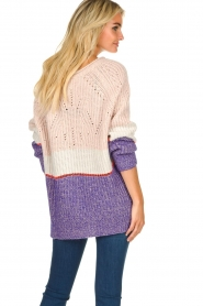 Patrizia Pepe |  Knitted multi-coloured sweater Alessia | multi  | Picture 5