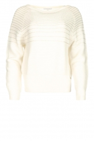 Patrizia Pepe |  Beaded sweater Heather | natural  | Picture 1