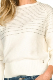Patrizia Pepe |  Beaded sweater Heather | natural  | Picture 6