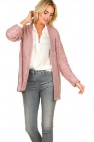 Patrizia Pepe |  Cardigan Maglia | pink  | Picture 4
