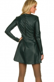 Patrizia Pepe | Faux leather dress Felicia | green  | Picture 6
