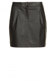 Patrizia Pepe |  Skirt with bead details Zara | black  | Picture 1