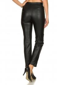 Patrizia Pepe |  Faux leather pants Mara | black  | Picture 5